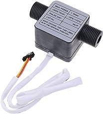 Phenovo Flowmeter For Oil Milk Honey high density Liquid Flow Sensor 1.0Mpa 3/8'' Pagoda or G1/2'' Thread