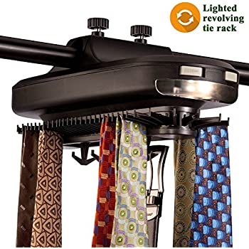 Sterline Automatic Motorized Revolving Tie and Belt Rack with ...