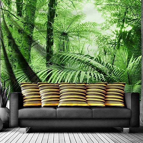 Qiyi casa parete appeso natura arte tessuto in poliestere arazzo per dormitorio,camera da letto,soggiorno decorazioni 203cmx153cm-the tropical forest