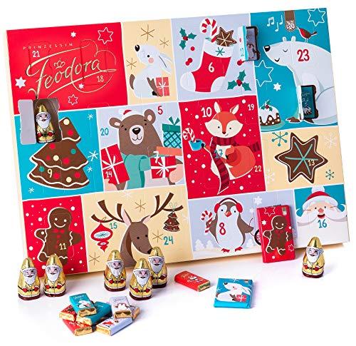 Feodora Adventskalender Santa Claus, 1er Pack (1 x 130 g) -