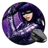 Kick Ass 2 Hit Girl Chloe Moretz A Mauspad Round Mousepad PC