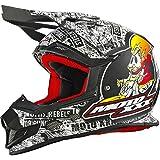 0622-102 - Oneal Moto XXX OG Character Motocross Helmet S Matt Black White