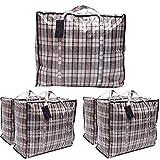 DECO EXPRESS Gross Kleideraufbewahrung Kleiderbeutel Wäschebeutel (Packung von 5 Laundry Bags)