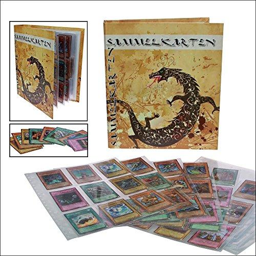 ALbum für Sammelkaren YuGiOh-Orginalkarte, Tradingkarten, Sammelkarten, Fußballkarten