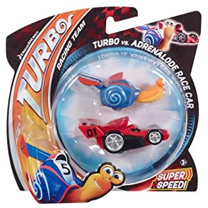 Pack escargot turbo + voiture rouge