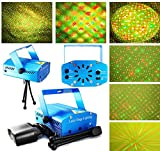 SOUND ACTIVTED LASER PROJECTOR LIGHT WITH 6 DESIGN