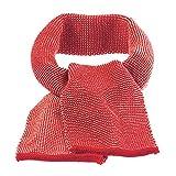 disana Baby/Kinder Strick-Schal bio-Merinoschurwolle, Rot-Rose, Gr. 12x100 cm