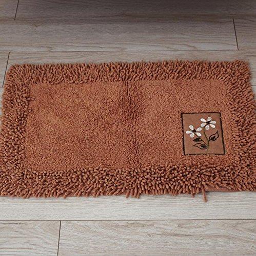 GFYWZ Della famiglia tappetini tappetini antiscivolo cucina stuoie pratunam pad , dark coffee , 45*70cm
