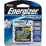 ENERGIZER Lot de 2 Blisters de 2 Piles Ultimate Lithium L91 AA Mignon LR6