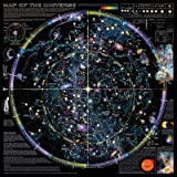 Map of Universe - ©Spaceshots Art Poster Print, 89x89 cm