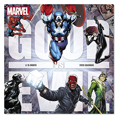 2020 Marvel Good vs. Wandkalender