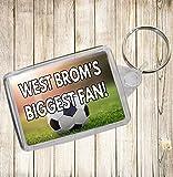 West Brom's Biggest Fan Fußball Schlüsselanhänger–Geburtstag Geschenk/Strumpffüller