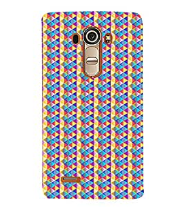 Colourful Pattern 3D Hard Polycarbonate Designer Back Case Cover for LG G4 :: LG G4 Dual LTE :: LG G4 H818P H818N :: LG G4 H815 H815TR H815T H815P H812 H810 H811 LS991 VS986 US991