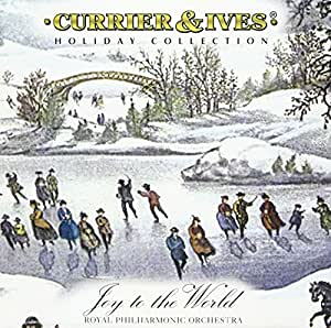 Currier & Ives Joy to the Worl