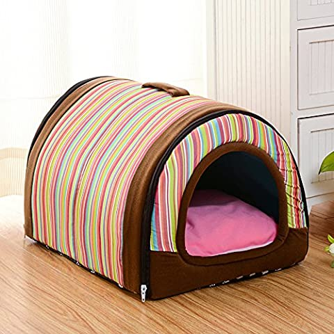 Midmade Multifunction Indoor Pet House Cute Winter Warm Soft Pet Bed Washable Non-Slip Dog Bed Puppy Cat Cushion Mat