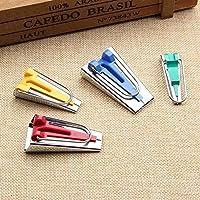 ToWinle - Juego de herramientas para hacer cintas de bies de 6 mm, 12 mm, 18 mm, 25 mm, para coser y acolchar
