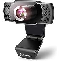 JOYACCESS Webcam per pc, 1080P web camera con microfono riduzione del rumore, vista Wide-Angle 105° per lo Streaming e…