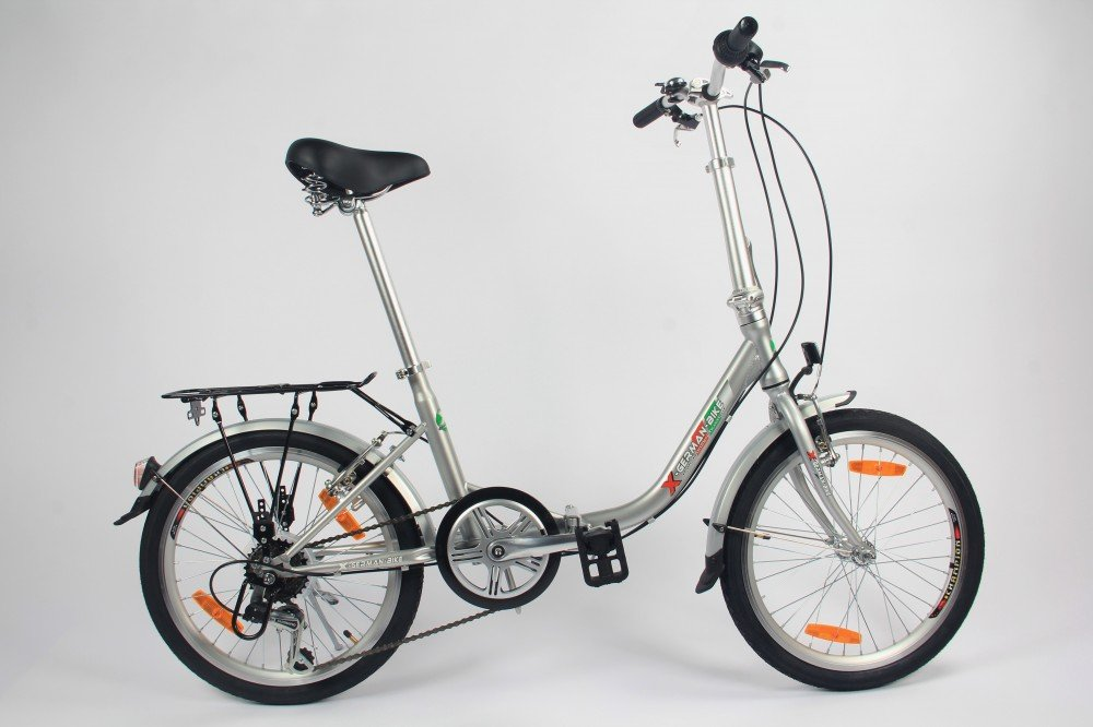61EbBwzpFPL - GermanXia Comfort Folding Bike 20 Inch 1-Speed with Backpedal Brakes
