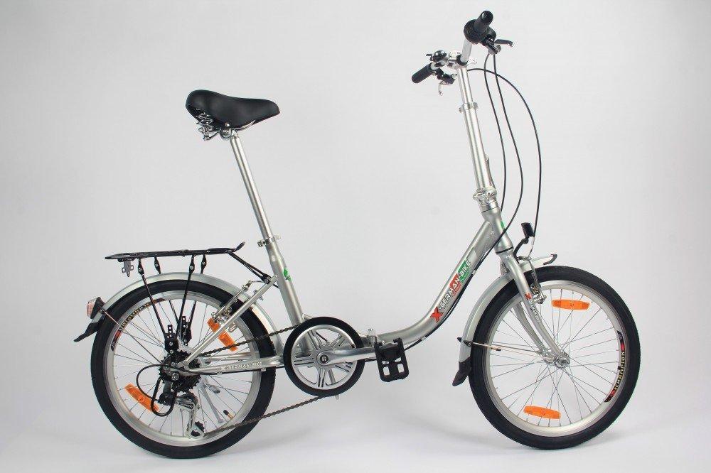 61EbBwzpFPL - Germ Anxia Folding Bike 20Inch Comfort 1Gang With Coaster Brakes