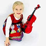 Jack Royal Classic Violin Guitar Educational Musical Instrument for Kids (Assorted Colors)
