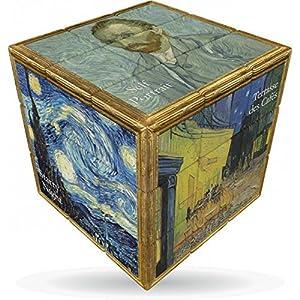 V-Cube VCB-3-VANGOGH Van Gogh - Puzle con Forma de Cubo de Velocidad giratoria