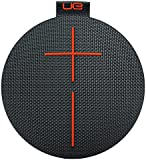 Ultimate Ears ROLL 2 Bluetooth Speaker Ultraportable with Floatie, Waterproof and Shockproof - Black/Orange