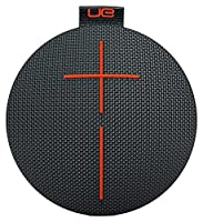 Ultimate Ears 984-000666 ROLL 2 Bluetooth Speaker Ultraportable with Floatie, Waterproof and Shockproof - Black/Orange