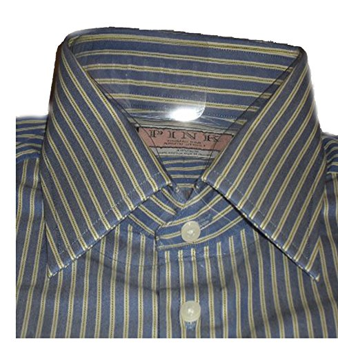 thomas-pink-mens-blue-with-red-stripe-cotton-double-cuff-shirt-sz-17r