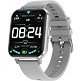 Smart Watch for Android Phone and IOS Phones for Men Women, Fitness Tracker with Heart Rate Monitor and Sleep Monitor IP68 Wa