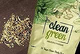 Clean Green Detox Tee - schnell und wirksam - 14 Tage Body Detox Tee Kur - 100% natürliche Kräuterteemischung - Grüner Tee, Brennnessel, Ingwer & Gojibeeren - Hergestellt in Deutschland - für Frauen und Männer - auch ohne Sport - vegan - Nurigreen - 3
