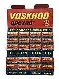 100 Lamette da barba Voskhod Teflon Coated