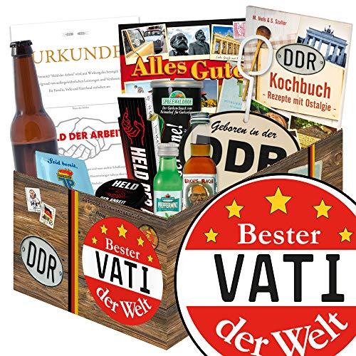 Bester Vati der Welt | Männer Geschenkset DDR | Geschenk Geburtstag