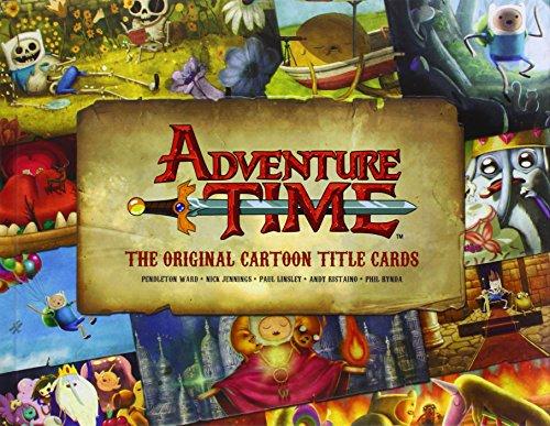 ADVENTURE TIME ORIGINAL CARTOON TITLE CARDS HC 01