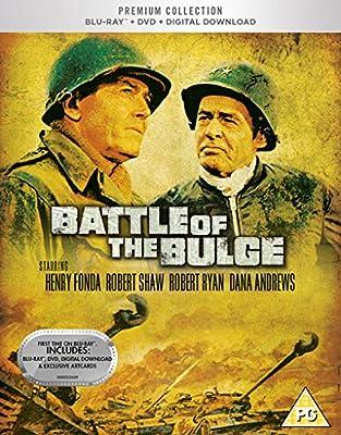 Battle Of The Bulge Blu Ray + DVD + Digital Download + Art Cards / U.K. release.
