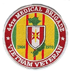 44th Medical Brigade Vietnam Veteran Patch by Military Productions