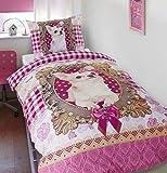 Dreamhouse Bedding Bettwäsche Chihuahua - 140x200/220 - Multi + Mit 1 Kissenbezüge 60x70