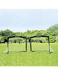 SOCCER EASYPLAY - Fußball-Tor Pop Up 2er Set - Fußballtor klappbar 120 x 90 x 90 cm