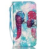 QSY Apple iPhone 5C PU Cuir Portefeuille Longe Coque silicone Etui Strass etui Case Cas Cuir Housse Leather Swag Flip Case Cover Coquille ouverture avec Fonction Stand et les fentes de carte de crédit pour Apple iPhone 5C (A) (9)