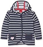 s.Oliver Baby-Mädchen Sweatshirt-Jacke, Blau (Tiefseeblau Stripes 58G9), 74