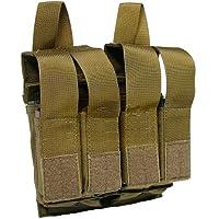 Flyye Doppia M4 / M16 Quad Pistola Rivista Borsa MOLLE Coyote Brown - Doppia Pistol Mag Pouch