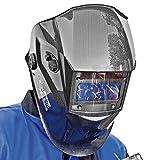 Proteco-Werkzeug® P600E-C Solar Automatik Schweisshelm Schweißhelm Schweissmaske Schweißschild Automatikhelm Carbon