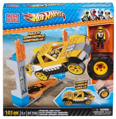 Hot Wheels Camión acrobático, juego de construcción (Mega Brands 91756)