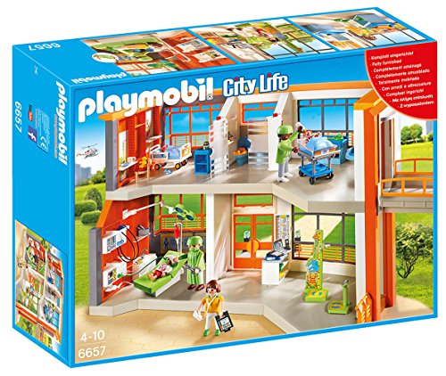 Playmobil- Furnished Children's Hospital City Life