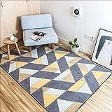Lily Alfombras de Nylon rectangulares Minimalistas de la Moda, Alfombra casera geométrica Creativa, Alfombra de la Mesa de Centro de la Sala de Estar del Dormitorio (tamaño : 120CM×170CM)