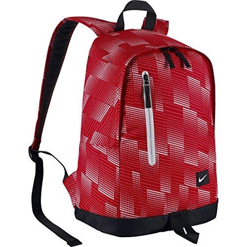 Nike All Access Halfday Zaino, University Red/Black/(White), Taglia Unica