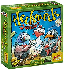 Zoch 601129500 - Heckmeck Junior, Karten- und Würfelspiel