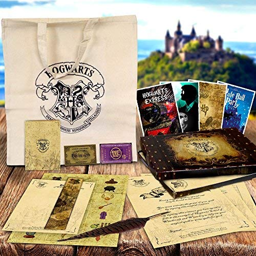 Lord Fox Hogwarts Federkiel Geschenk Box Set–Harry Potter