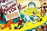 Posterlounge Forex 60 x 40 cm: The Wizard of Oz de French School/Bridgeman Images