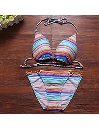 279829026 Pirate 2018 Bikini Sexy Mujer Bikini Set Vendaje Empuje ups Bañadores  Bañador ...