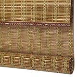 GYH Jalousien Bambus Bambusvorhang - Chinesische Tea Room Bambusrollos Anti-Infrarot-Staubschutz Dekorative Bambusvorhang für interne/Externe Installation [3 Farben - mehrere Größen] (#)